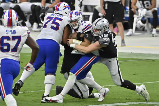 Chiefs ride suddenly stingy defense as Raiders visit Sunday
