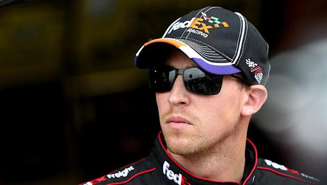 After missing Fontana, Denny Hamlin is confident and angry about perceived doubts of his character