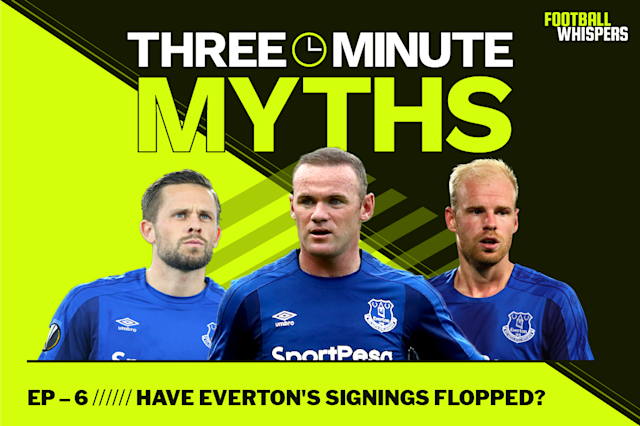 Everton have come under criticism this season, not least because they've spent over £200m on new players - but are those players to blame for their disappointing season? We took a look at the numbers in the latest episode of Three Minute Myths. Where should we go next? Let us know in the comments below.