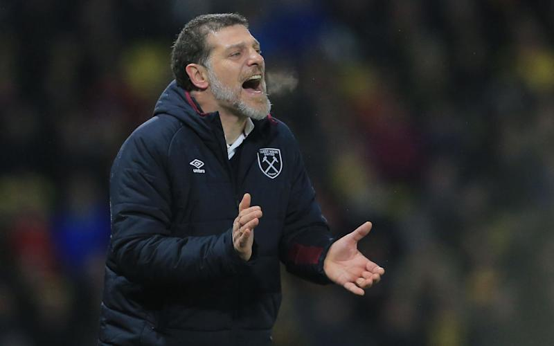 Slaven Bilic is set to go into the final year of his three-year deal with his future uncertain - Copyright (c) 2017 Rex Features. No use without permission.