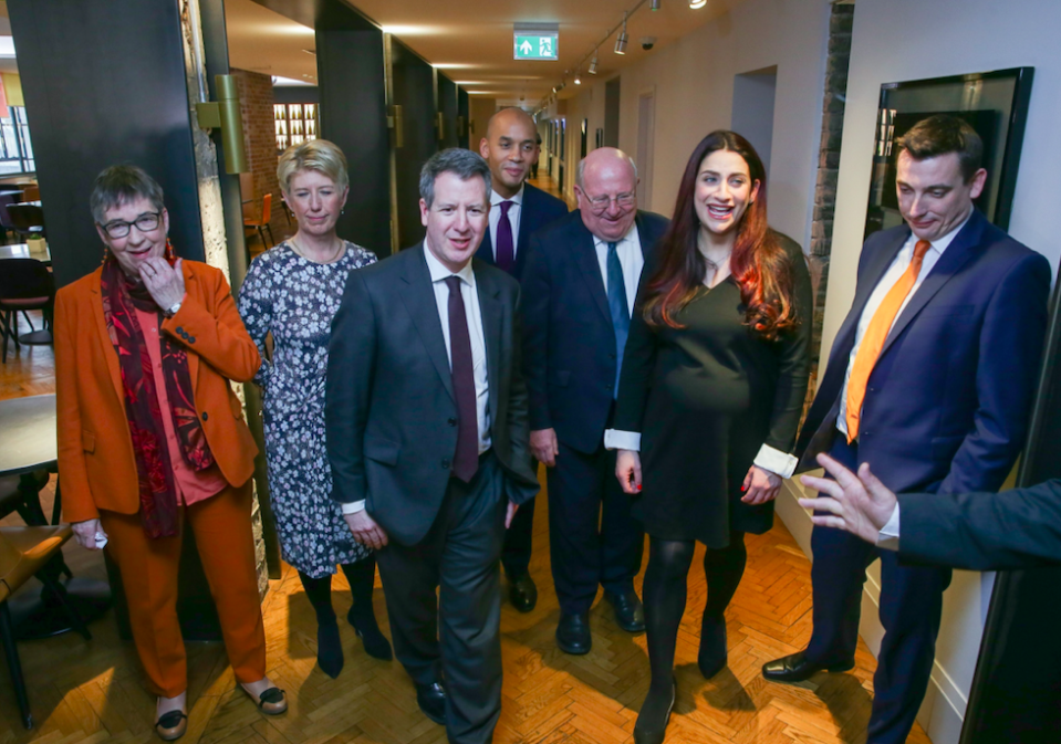 <em>Several Labour MPs quit in part because of anti-Semitism in the party (Getty)</em>
