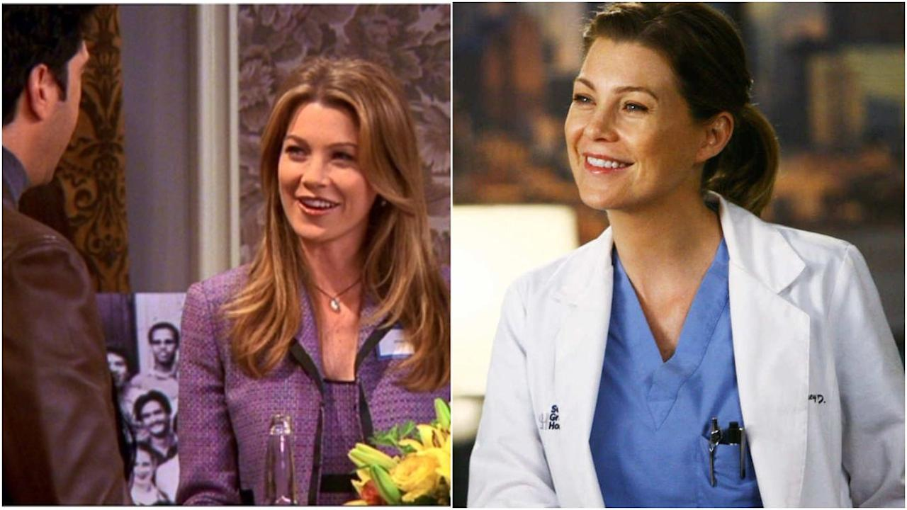 "<p>Before <em><a rel=""nofollow"" href=""https://www.digitalspy.com/greys-anatomy/"">Grey's Anatomy</a></em>, Pompeo played Missy Goldberg, a college crush of Ross and Chandler who Mr Bing scored with, despite the boys having a ""pact"" not to hit on her.</p>"