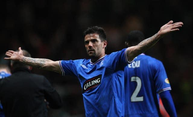 Nacho Novo scored the only goal of the game which proved decisive for Rangers (PA Images/Lynne Cameron)