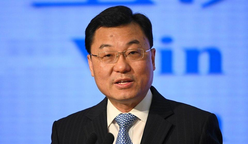 Xie Feng was promoted to vice-minister of foreign affairs. Photo: TNS
