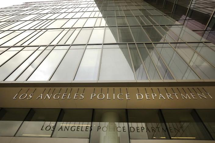 LOS ANGELES, CA - JULY 01: Los Angeles Police Headquarters located at First and Spring Street in downtown Los Angeles July 1, 2020 as Los Angeles City Council voted to cut hiring at the LAPD, pushing the number of sworn officers well below 10,000 and abandoning a budget priority once seen as untouchable by city leaders. LAPD Headquarters on Wednesday, July 1, 2020 in Los Angeles, CA. (Al Seib / Los Angeles Times)