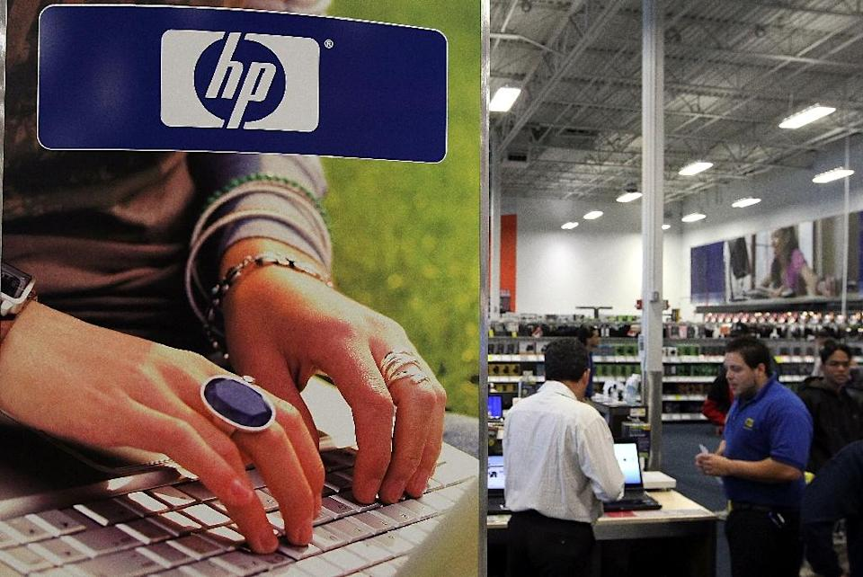 The computer colossus is being divided into HP Enterprise, focusing on software and business services, and HP Inc, which will keep the personal computer and printer operations (AFP Photo/Justin Sullivan)