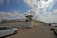 The escape from Gilboa prison, pictured the day six Palestinian prisoners tunneled out on September 6, 2021, was extremely rare (AFP/Jalaa MAREY)