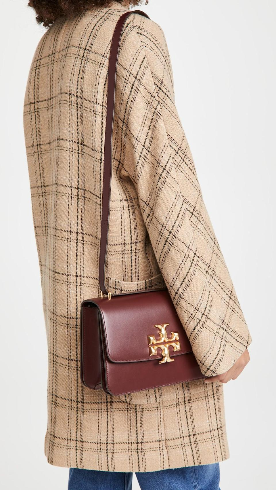 <p>This <span>Tory Burch Eleanor Convertible Shoulder Bag</span> ($697) will match with everything you already own.</p>
