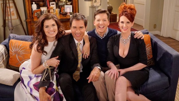 """Will & Grace"" hits airwaves again this fall, honey. (NBC)"
