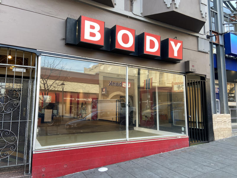 Body closed last month after 40 years in the Castro.