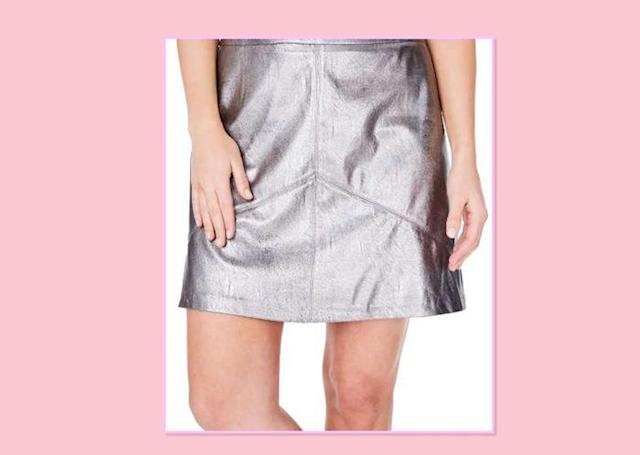 "<p>Elvi Metallic Faux Leather Miniskirt, $98, <a href=""http://shop.nordstrom.com/s/elvi-metallic-faux-leather-miniskirt-plus-size/4623217?origin=category-personalizedsort&fashioncolor=SILVER"" rel=""nofollow noopener"" target=""_blank"" data-ylk=""slk:Nordstrom"" class=""link rapid-noclick-resp"">Nordstrom </a> </p>"