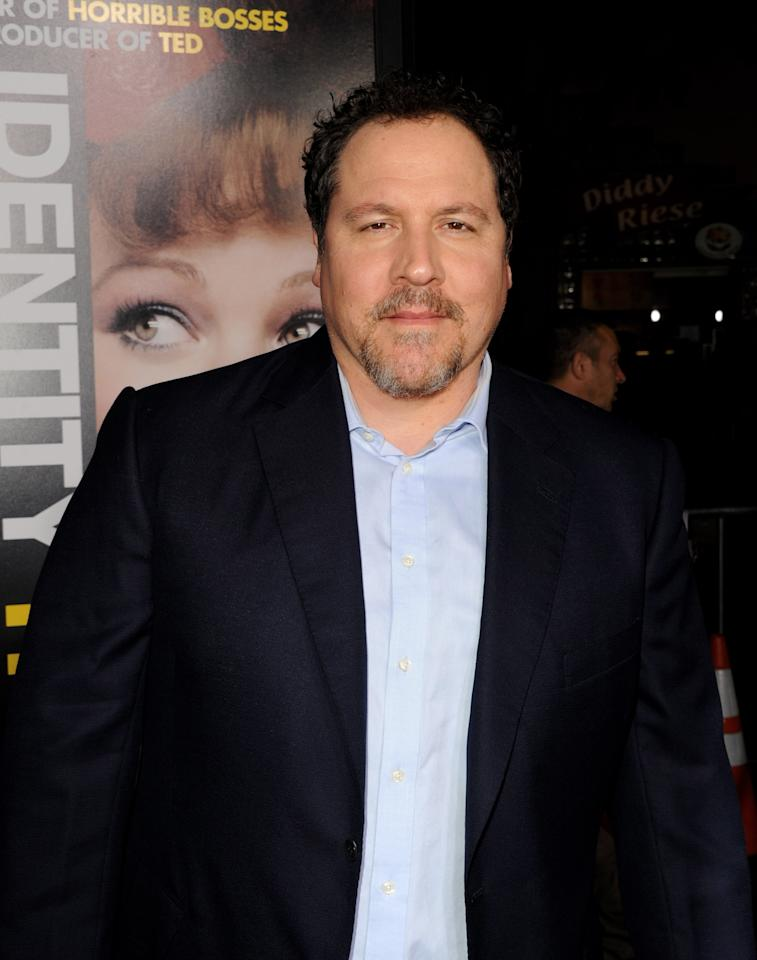 "LOS ANGELES, CA - FEBRUARY 04:  Actor Jon Favreau arrives at the premiere of Universal Pictures' ""Identity Theft"" at the Village Theatre on February 4, 2013 in Los Angeles, California.  (Photo by Kevin Winter/Getty Images)"