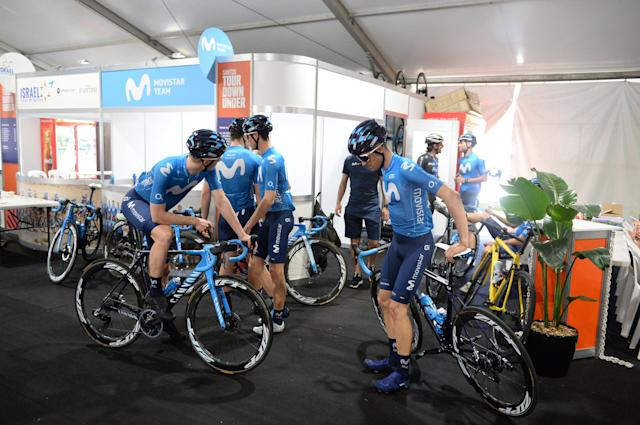 Movistar at the Tour Down Under