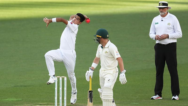 Naseem Shah's bowling action has been compared to the great Dennis Lillee.