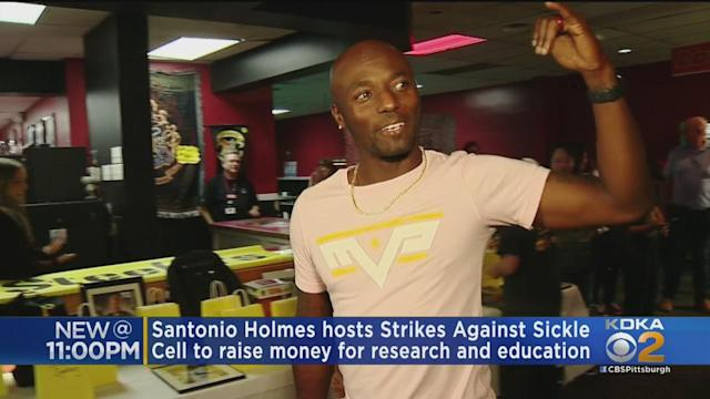 Steelers Super Bowl MVP Hosts Bowling Fundraiser For Sickle Cell Research