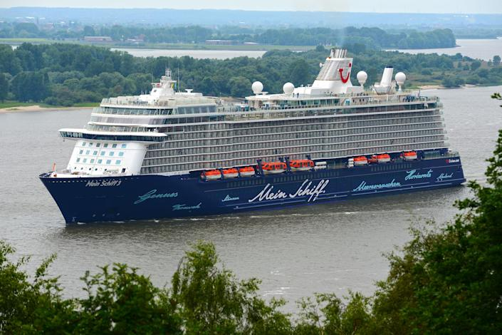 Pictured here is TUI Cruises' Mein Schiff 3, which has minor differences compared to the Mein Schiff 6.