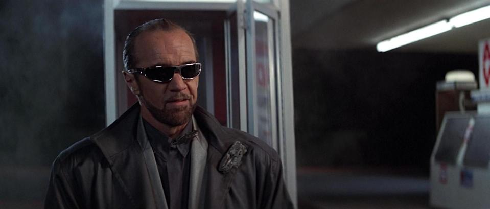 George Carlin in 'Bill & Ted's Excellent Adventure' (MGM)