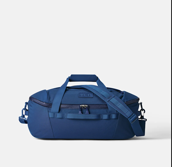 """Travels light and easy for spur-of-the-moment adventures. <br> $199.99, Yeti. <a href=""""https://www.yeti.com/en_US/bags/duffels/crossroads/40l/26010000093.html?q=crossroads%2040"""" rel=""""nofollow noopener"""" target=""""_blank"""" data-ylk=""""slk:Buy Now"""" class=""""link rapid-noclick-resp"""">Buy Now</a><br>"""