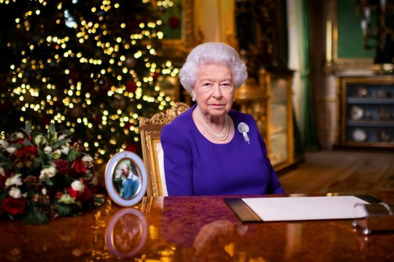 "Britain's Queen Elizabeth II said she was proud of those who have ""risen magnificently to the challenges of the year"""