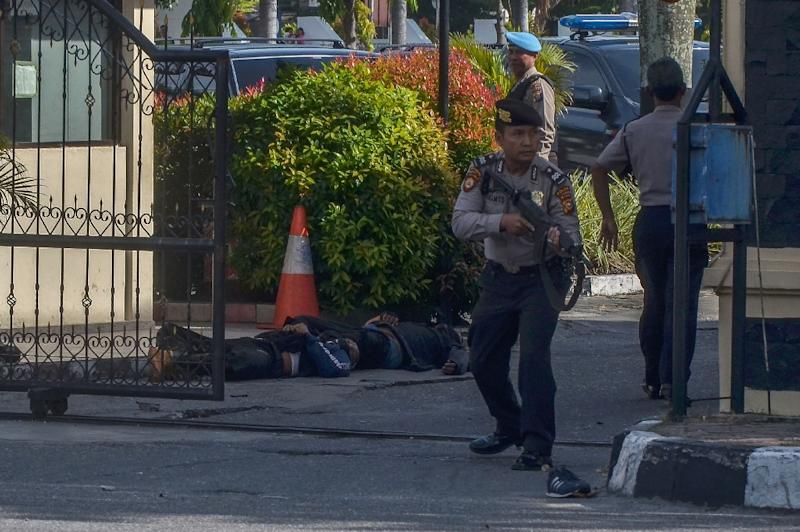 The attacks have put Indonesia on edge as the world's biggest Muslim majority country starts the holy fasting month of Ramadan from Thursday (AFP Photo/WAHYUDI)