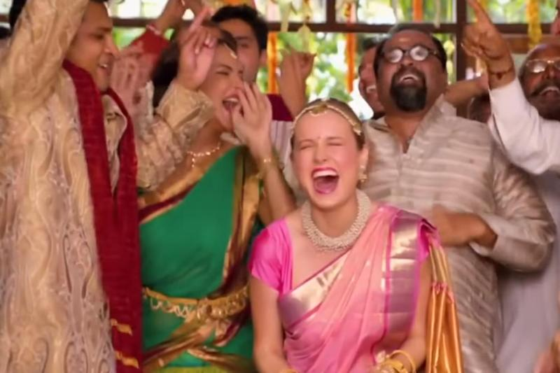 Under fire: Brie Larson in Basmati Blues