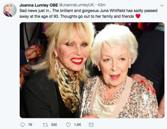 joanna-lumley-tribute-june-whitfield-death