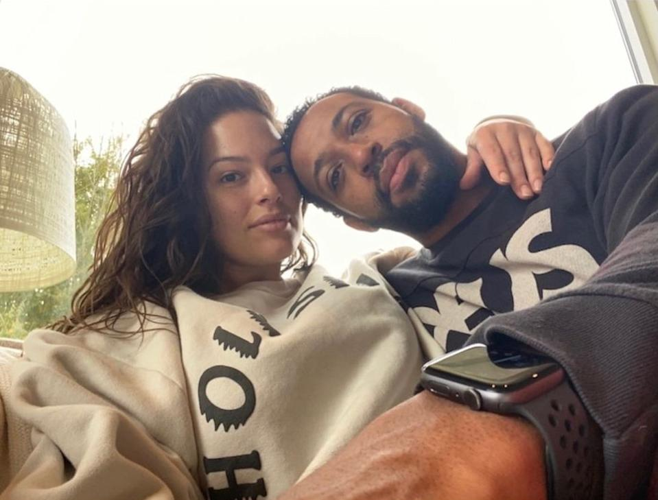 Ashley celebrated her birthday with her husband of ten years Justin Ervin. Photo: Instagram/Ashley Graham