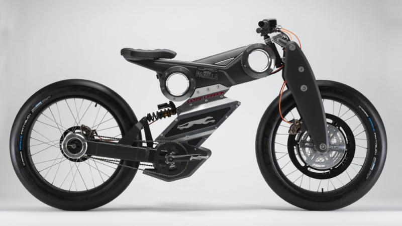 This New Electric Bike Looks Just Like a Motorcycle But Is