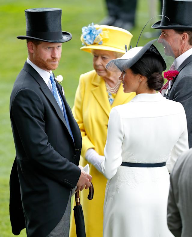 The royals made the rounds at Royal Ascot. (Photo: Getty Images)