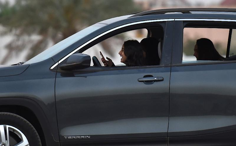 Saudi authorities launched a sweeping campaign against activists shortly before the kingdom is set to lift a ban on women drivers (AFP Photo/FAYEZ NURELDINE)