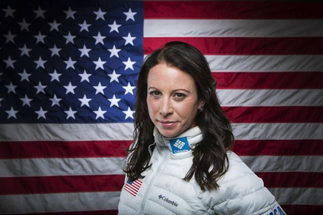 Olympic freestyle skier Emily Cook poses for a portrait during the 2013 U.S. Olympic Team Media Summit in Park City, Utah September 30, 2013. REUTERS/Lucas Jackson (UNITED STATES - Tags: SPORT OLYMPICS SKIING PORTRAIT PROFILE)
