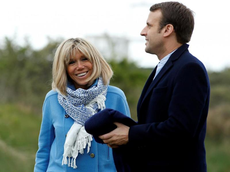 She admires his 'rare intelligence' and 'extraordinary humanity'. He let her sit in on some meetings when he was a minister (Benoit Tessier/Reuters)