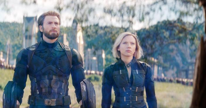 Chris Evans needed some digital assistance keeping Captain America's beard neatly trimmed in <em>Avengers: Infinity War.</em> (Photo: Marvel Studios/Walt Disney Studios Motion Pictures/Courtesy Everett Collection)