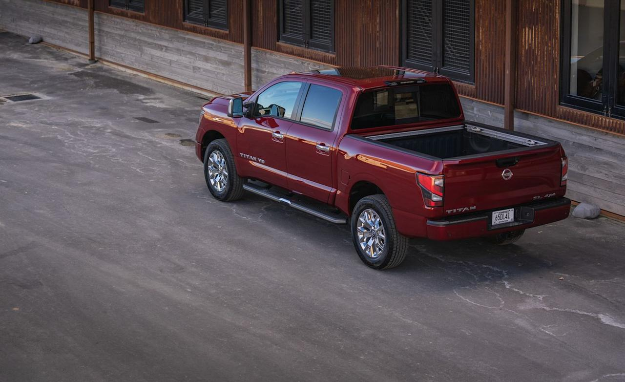 <p>Replacing the previous Jatco-sourced seven-speed automatic as the truck's only transmission choice is the supplier's new nine-speed unit.</p>