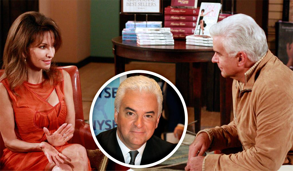 """""""<a href=""""/all-my-children/show/28652"""">All My Children</a>"""" newcomer John O'Hurley appeared in several episodes this fall as Kit Sterling, a producer who tries to convince Erica Kane (Susan Lucci) to turn her book into a movie."""