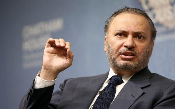 Anwar Gargash, the UAE state minister for foreign affairs, denies the veracity of the claims the emirate hacked Qatar's state media - Reuters