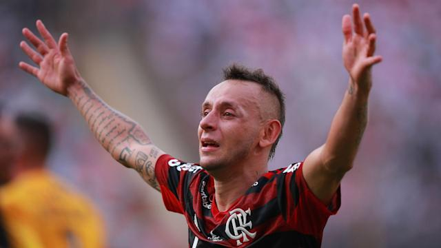Ex-Bayern Munich defender Rafinha has tattoos to mark his triumphs in football, and Flamengo's Copa Libertadores win will now be included.