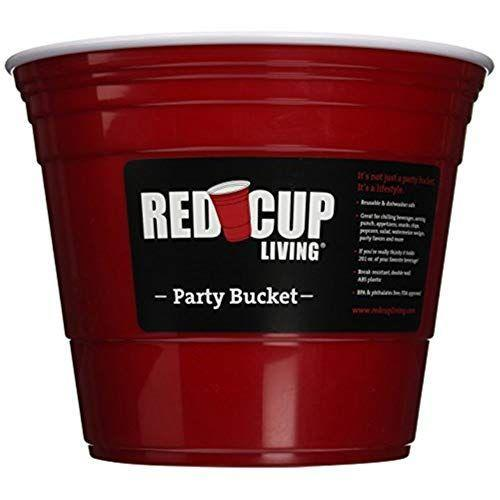 """<p><strong>Red Cup Living</strong></p><p>amazon.com</p><p><strong>$22.95</strong></p><p><a href=""""https://www.amazon.com/dp/B00KY4ULZ6?tag=syn-yahoo-20&ascsubtag=%5Bartid%7C10050.g.36489241%5Bsrc%7Cyahoo-us"""" rel=""""nofollow noopener"""" target=""""_blank"""" data-ylk=""""slk:Shop Now!"""" class=""""link rapid-noclick-resp"""">Shop Now!</a></p><p>We're not quite sure when red cups became <a href=""""https://www.smithsonianmag.com/smart-news/red-party-cup-american-icon-solo-cup-180961603/"""" rel=""""nofollow noopener"""" target=""""_blank"""" data-ylk=""""slk:a party icon"""" class=""""link rapid-noclick-resp"""">a party icon</a> but this eco-conscious bucket cheekily speaks to that fraternity kegger mindset. </p>"""