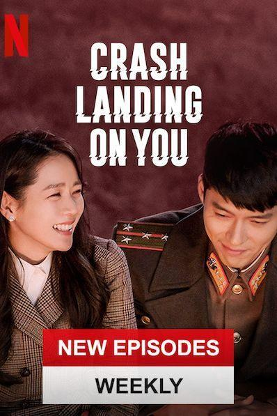 """<p>One of the newest Korean dramas that's garnered <a href=""""https://www.soompi.com/article/1382226wpp/crash-landing-on-you-achieves-4th-highest-ratings-in-tvn-history"""" rel=""""nofollow noopener"""" target=""""_blank"""" data-ylk=""""slk:tons of views"""" class=""""link rapid-noclick-resp"""">tons of views</a> in Korea, <em>Crash Landing On Yo</em><em>u</em> actually features actors from <em>Parasite. </em>A dramatic love story, the series tells the tale of a South Korean heiress to a large conglomerate who, while paragliding, accidentally crash-lands in North Korea. But don't worry, she meets a North Korean army officer who protects her and they begin a love story despite political strife.<br></p>"""
