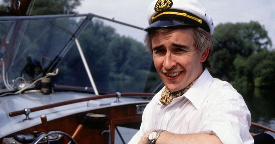Steve Coogan as the irrepressible Alan Partridge. (BBC)