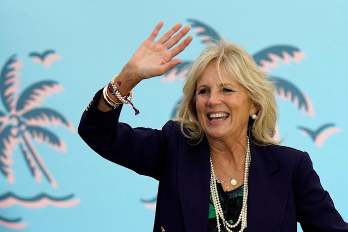 Jill Biden wants to keep her teaching job, just as the former second lady did during the Obama administration. (Photo: AP Photo/Chris O'Meara)