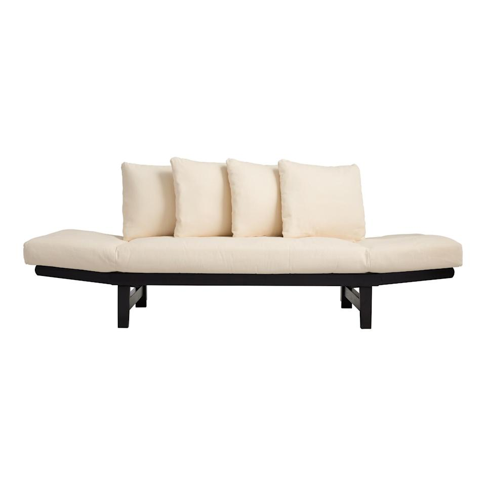 """<h2>World Market Studio Day Sofa</h2><br>Sofa by day, bed by night — and chaise lounge on the weekends. <br><br><strong>Cost Plus World Market</strong> Studio Day Sofa, $, available at <a href=""""https://go.skimresources.com/?id=30283X879131&url=https%3A%2F%2Fwww.worldmarket.com%2Fproduct%2Fstudio-day-sofa.do"""" rel=""""nofollow noopener"""" target=""""_blank"""" data-ylk=""""slk:Cost Plus World Market"""" class=""""link rapid-noclick-resp"""">Cost Plus World Market</a>"""