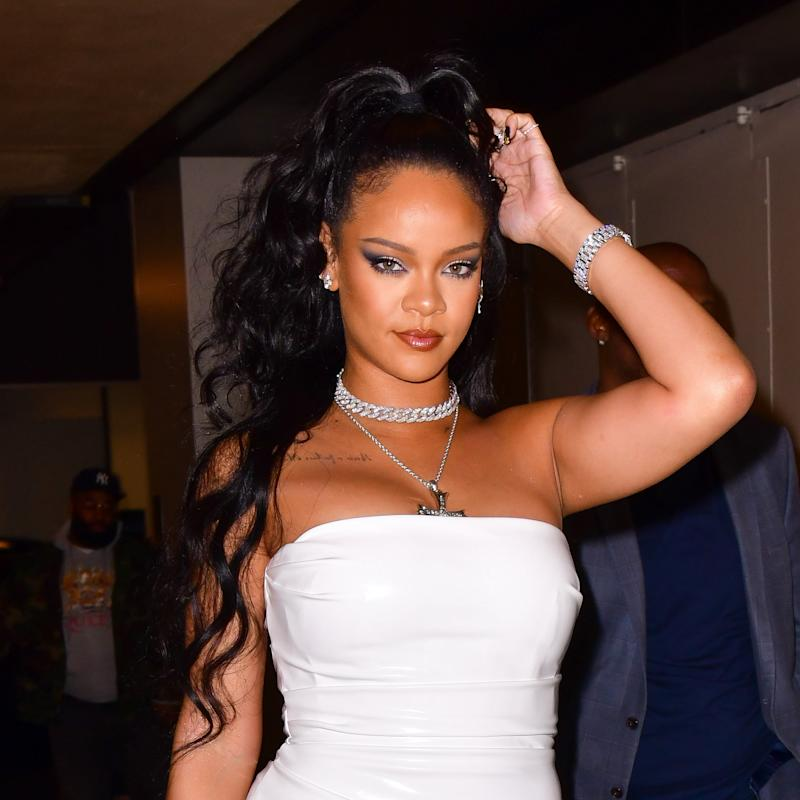 Rihanna Is the Latest Celebrity to Bring Back This 2000s Nail Trend