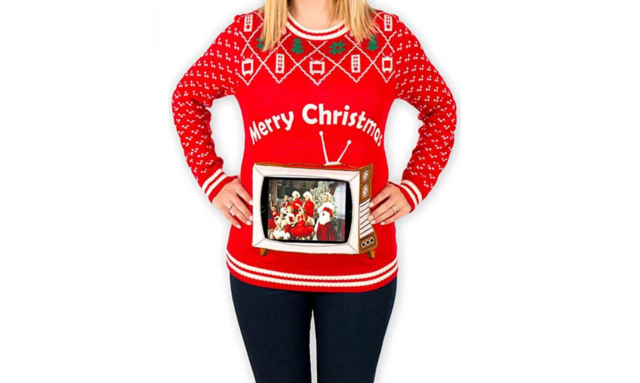 Pop Culture Themed Ugly Christmas Sweaters Photos