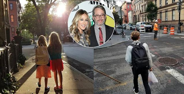 "<p>It's a year of several different schools for Sarah Jessica Parker and Matthew Broderick's brood. The <i>Divorce</i> star shared that her twins, Tabitha and Loretta, are in different schools this year. (Tabitha is ""an official third grader""; she didn't specify whether or not Loretta is as well.) As for James Wilkie, the cool kid is now in high school. (Photos: <a href=""https://www.instagram.com/p/BYvdw7vjNqW/?hl=en&taken-by=sarahjessicaparker"" rel=""nofollow noopener"" target=""_blank"" data-ylk=""slk:Sarah Jessica Parker"" class=""link rapid-noclick-resp"">Sarah Jessica Parker</a> <a href=""https://www.instagram.com/p/BYvZtTODHF-/?hl=en&taken-by=sarahjessicaparker"" rel=""nofollow noopener"" target=""_blank"" data-ylk=""slk:via Instagram"" class=""link rapid-noclick-resp"">via Instagram</a>/Getty Images) </p>"