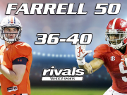 Allen Makes Farrell's 50 Best College Players of The Year