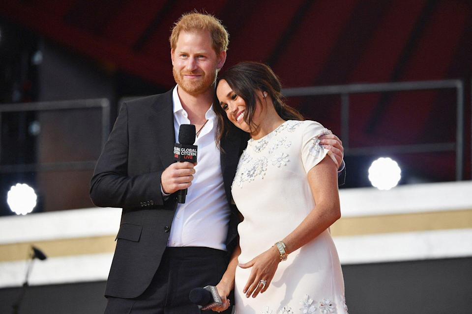 Global Citizen Live, New York - Prince Harry and Meghan Markle