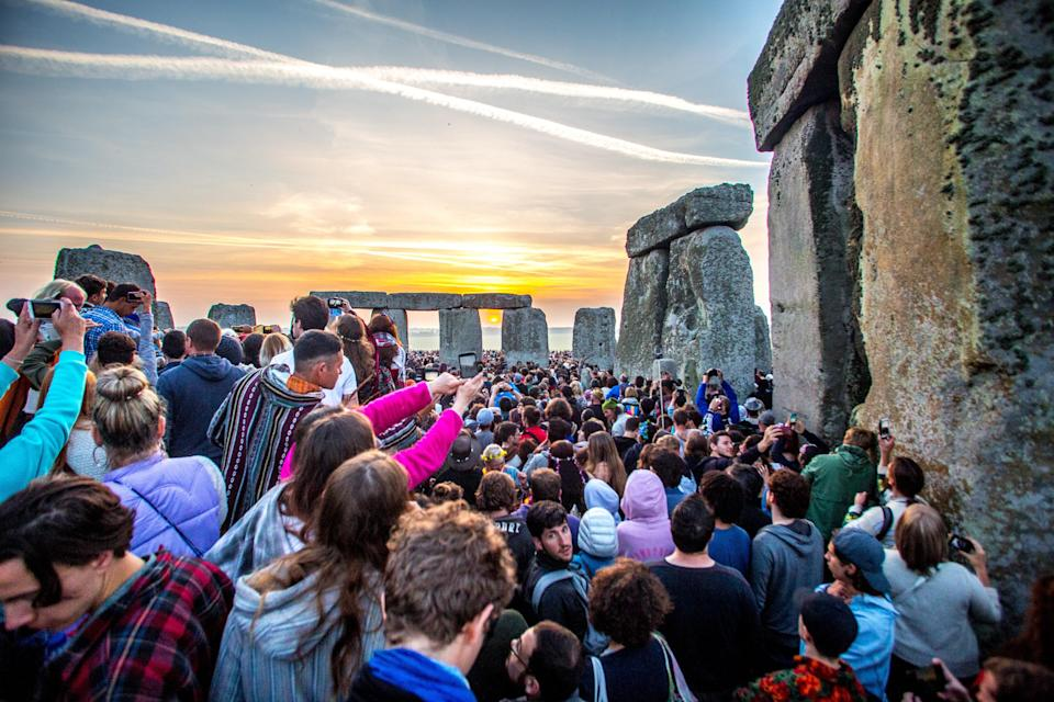 The tunnel will avoid key monuments at Stonehenge (SWNS)