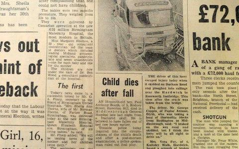 The alleged murder was treated as an accident at the time - Credit: Evening Gazette