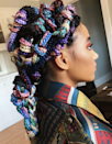 This look is probably best done by a stylist to ensure you don't create knots you're later unable to undo. The different colors add even more dimension to a truly unique style.